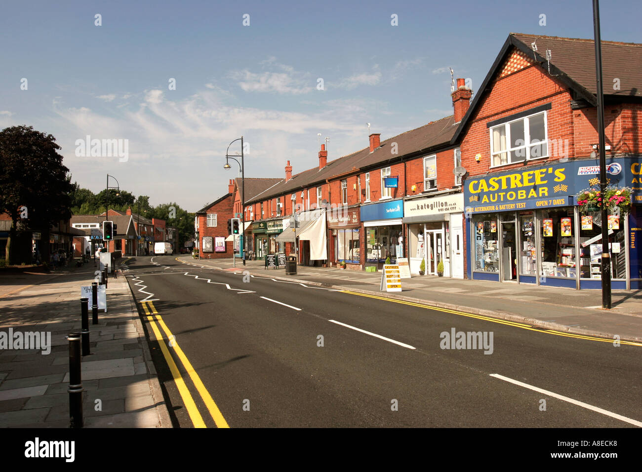 Cheshire Stockport Romiley Compstall Road Local Amenities