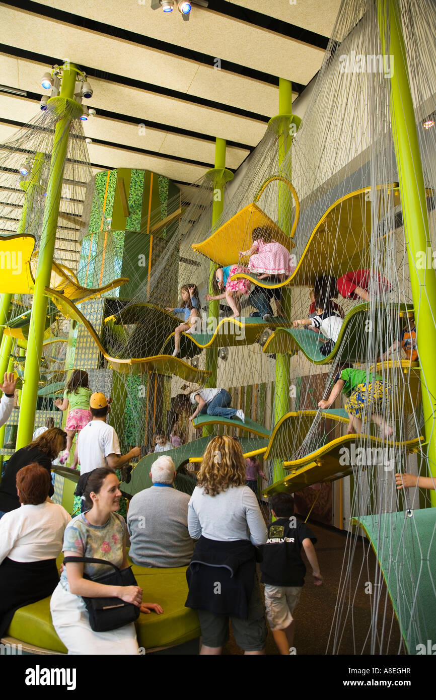 Play At American Girl: CHICAGO Illinois Ramps And Nets In Indoor Childrens Play
