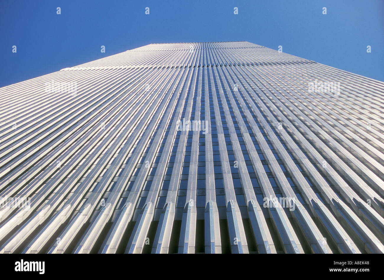 World Trade Center Twin Towers NYC USA - Stock Image