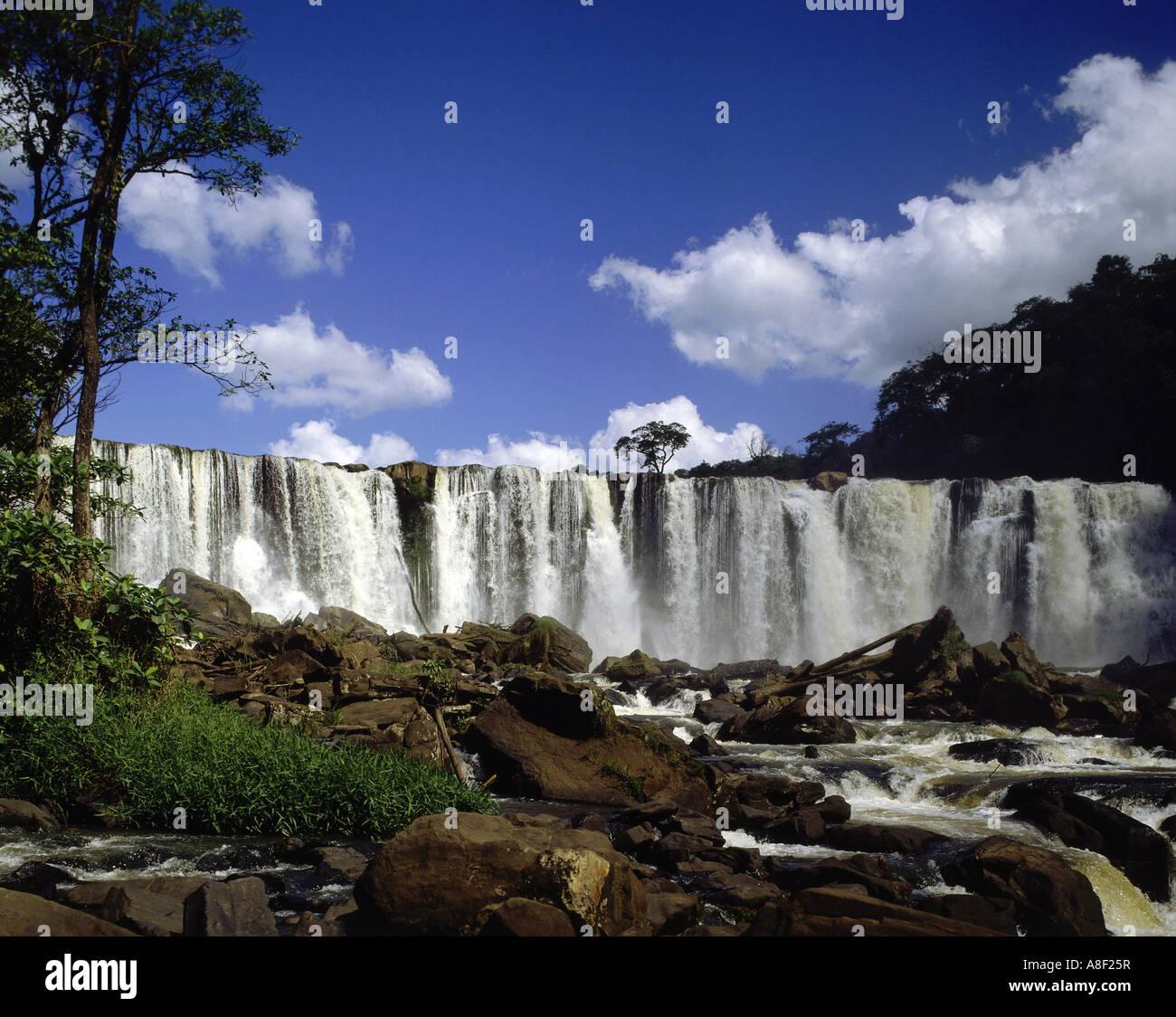Geography Travel Brazil Landscapes Parana Waterfalls