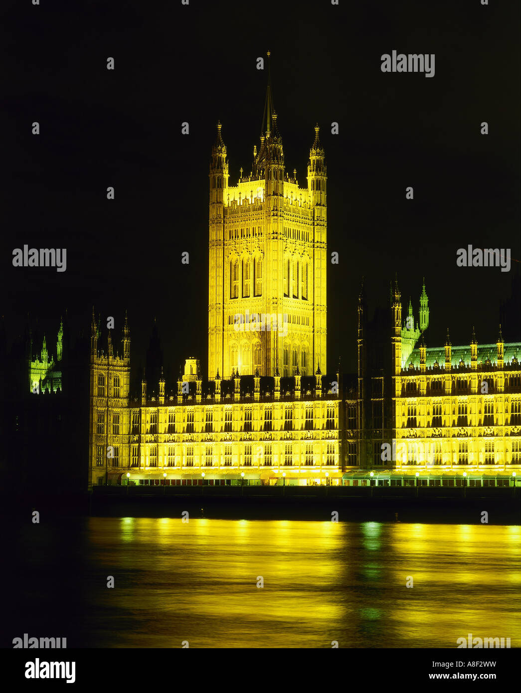 geography / travel, Great Britain, London, buildings, Palace of Westminster, architect: Sir Charles Barry, built: - Stock Image