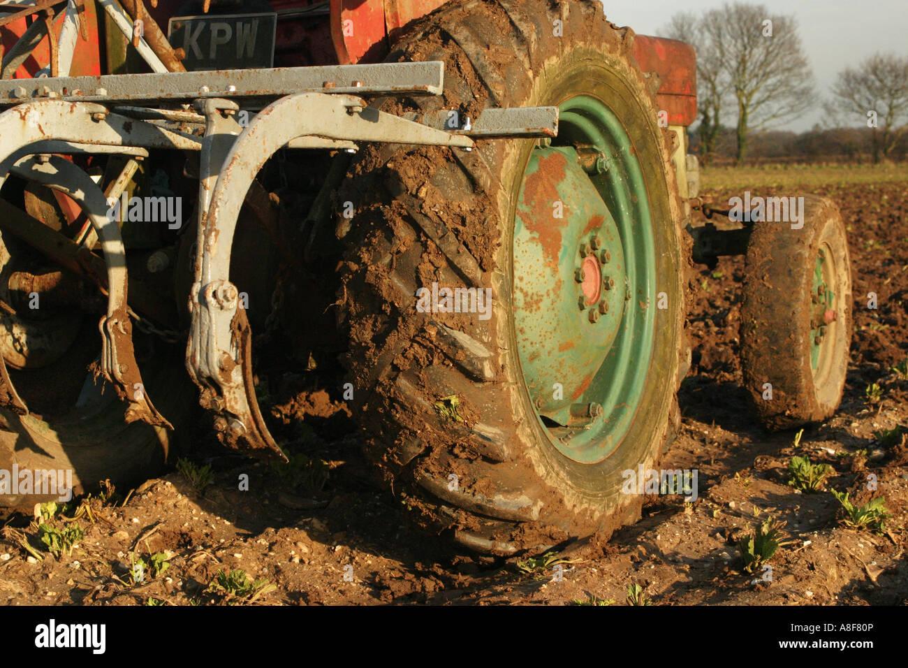 Tractor Vintage Agriculture Ferguson Stock Photos