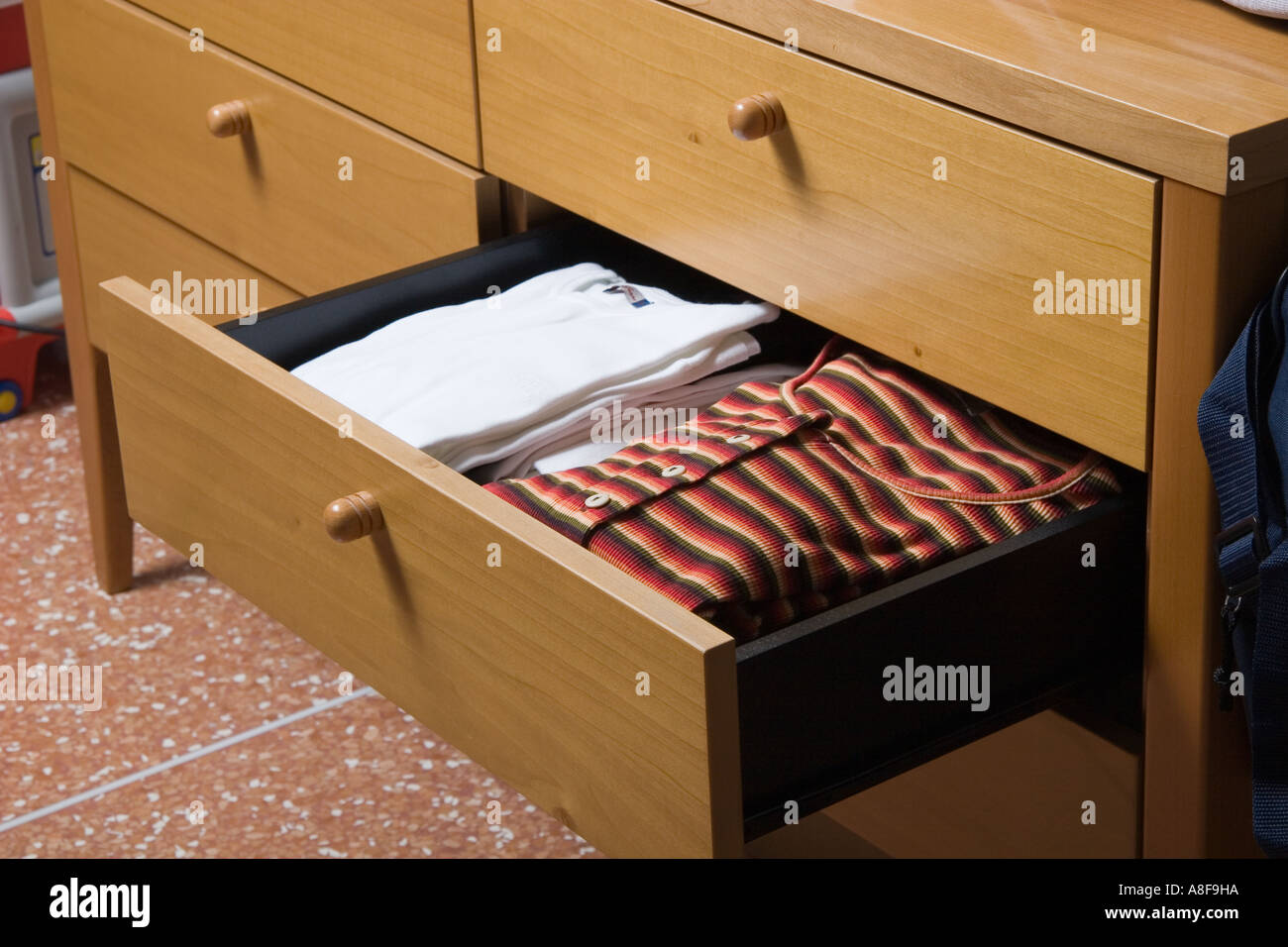 Fitted Cupboard Drawer Clothes Stock Photos Fitted Cupboard Drawer