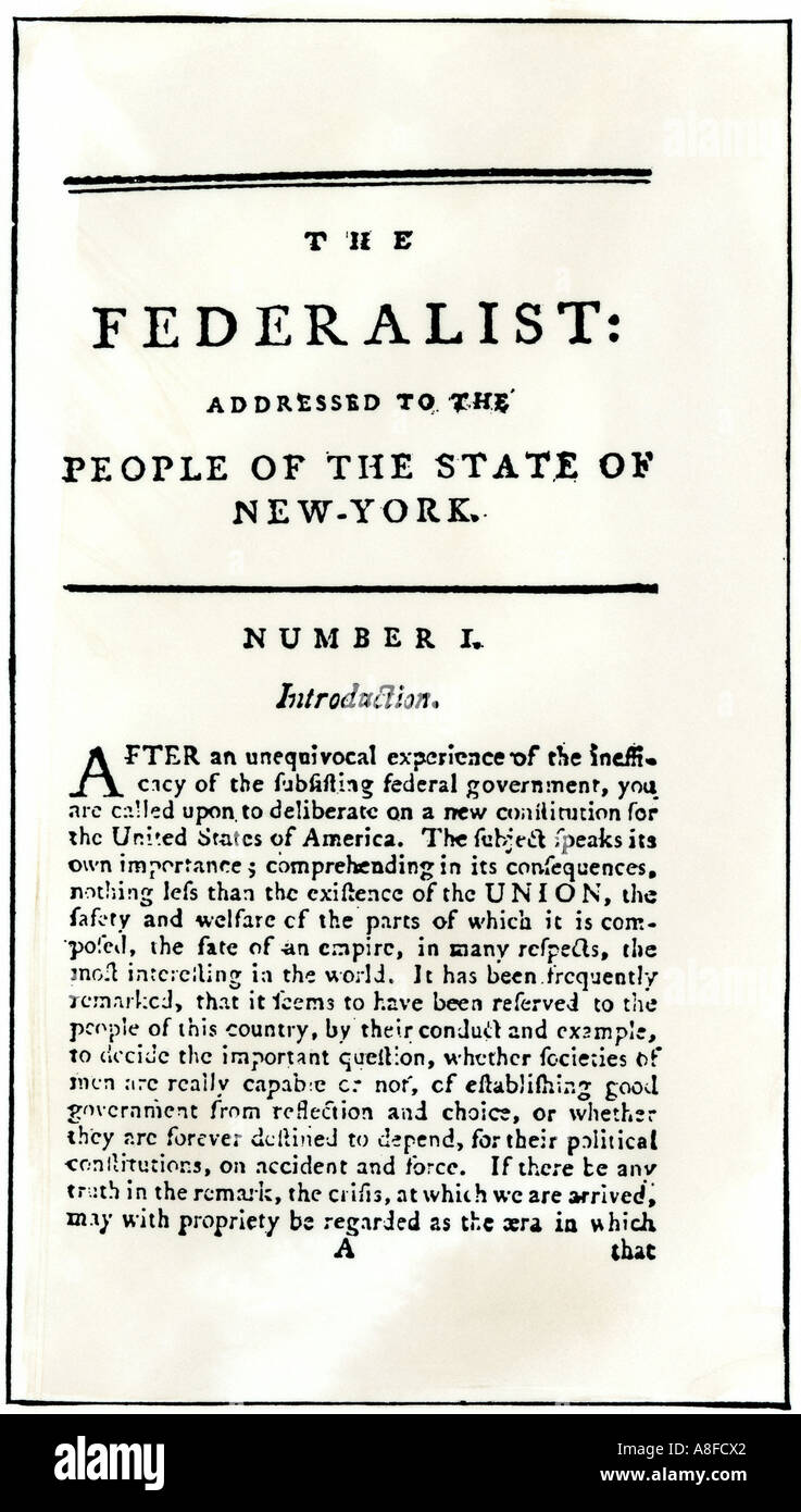 "name essays urging ratification constitution To assist teachers in teaching the ratification of the constitution, professor  gordon  why, continues the critique, the federalists even stole the name from  the ""true""  aren't the federalist and antifederalist essays ""tracts for their time,""  and self  and between the high appeal to liberty and responsibility and the low  urge to."