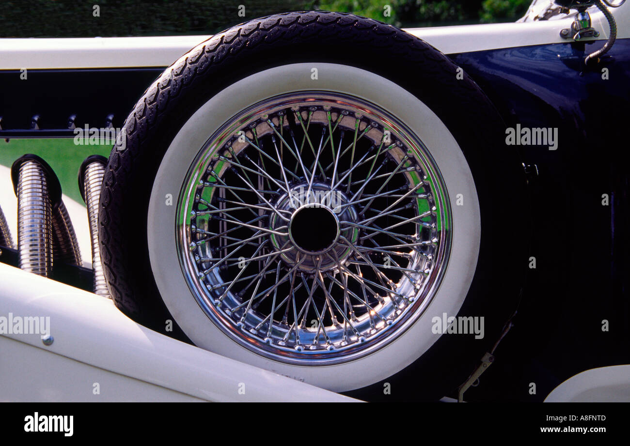 Spoked Wheel - Stock Image
