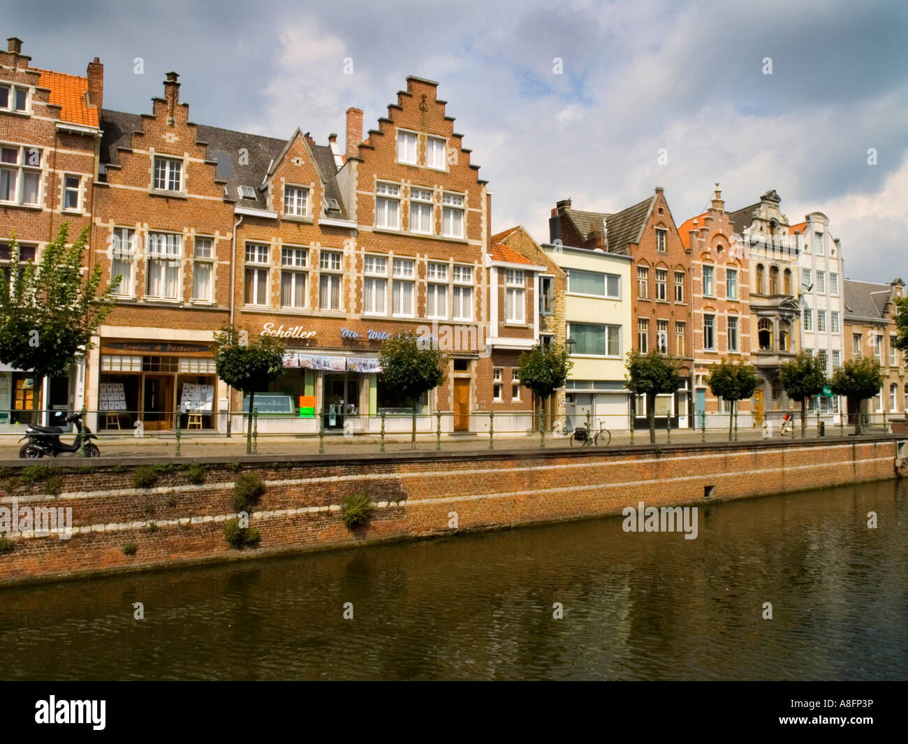 Old town Lier Belgium travel architect architecture facade ...
