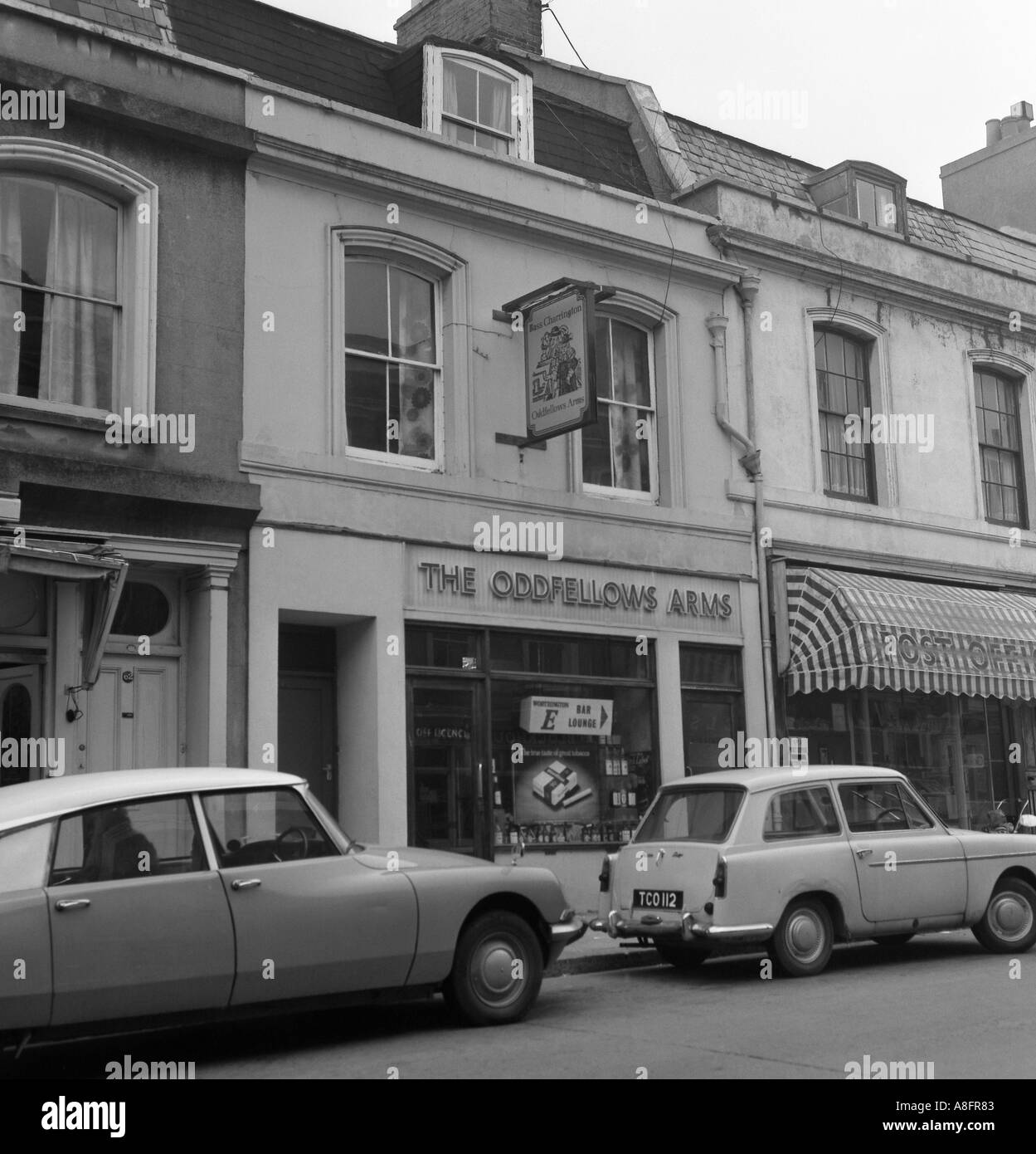 oddfellows arms devonport plymouth devon england between 1973 and 1975 in 6x6 number 0052 Stock Photo