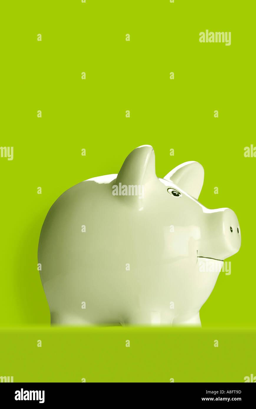 Piggy bank Sparschwein Stock Photo