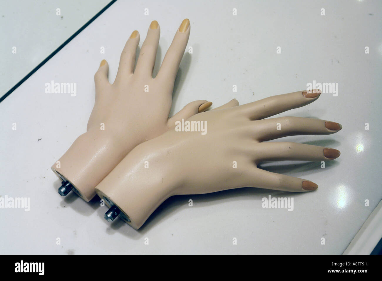 Hands dummies - Stock Image