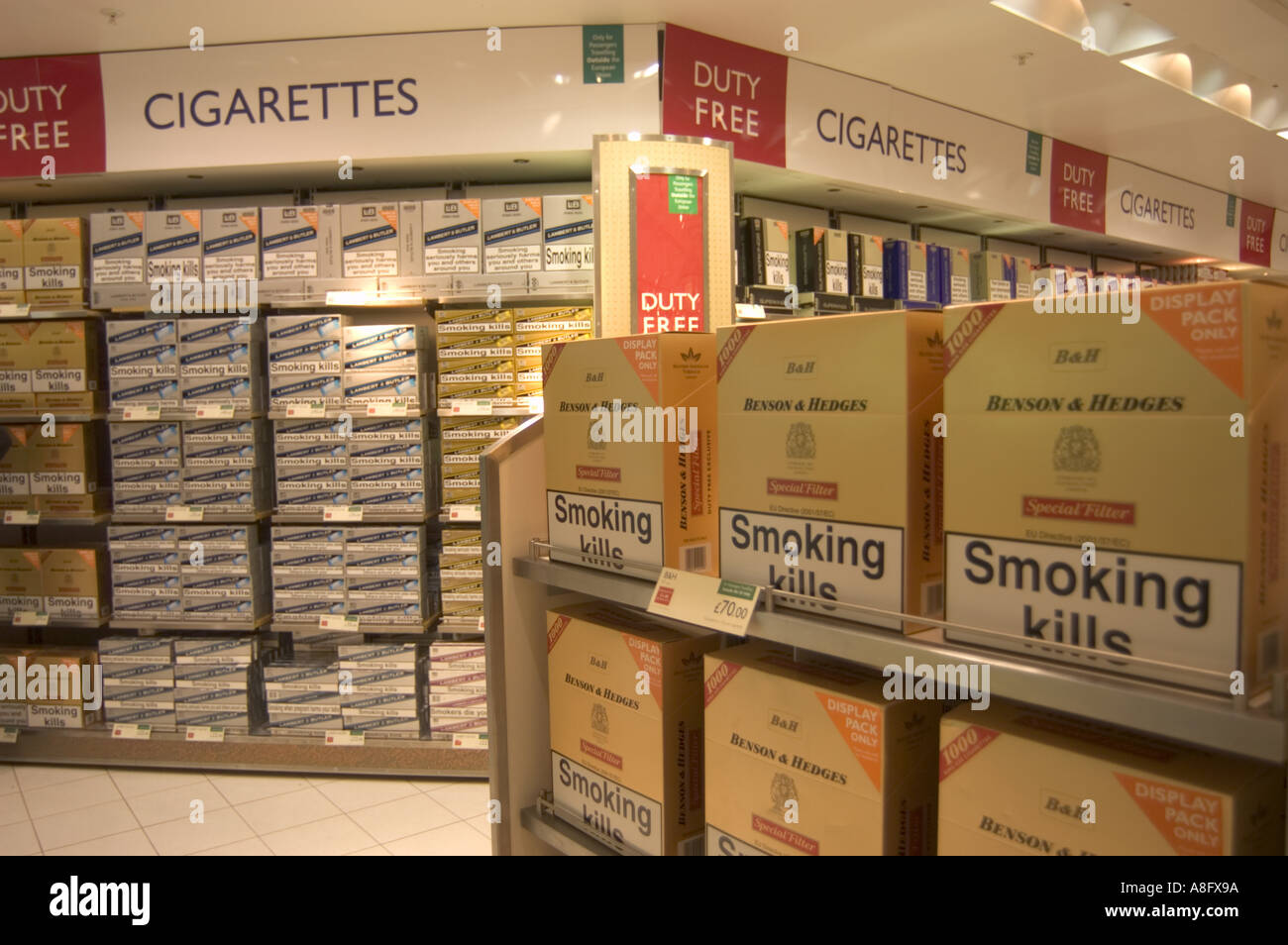 Cigarettes sold in Connecticut