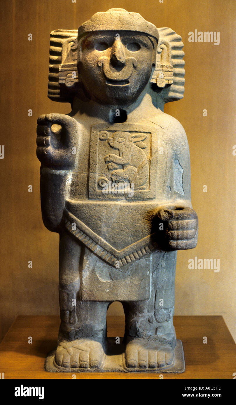 National Anthropological Museum Mexico City - Stock Image