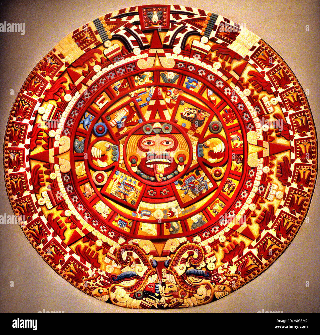 Aztec Sun Stock Photos Aztec Sun Stock Images Alamy