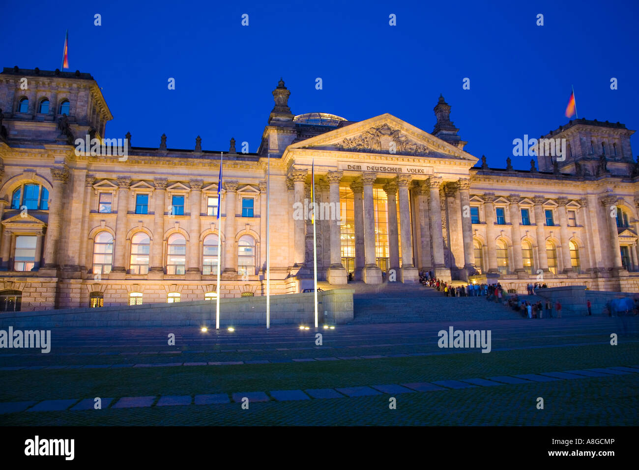 Parliament berlin germany europe european Stock Photo