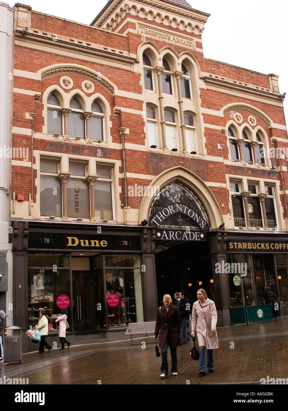 Thornton's Arcade Leeds - Stock Image