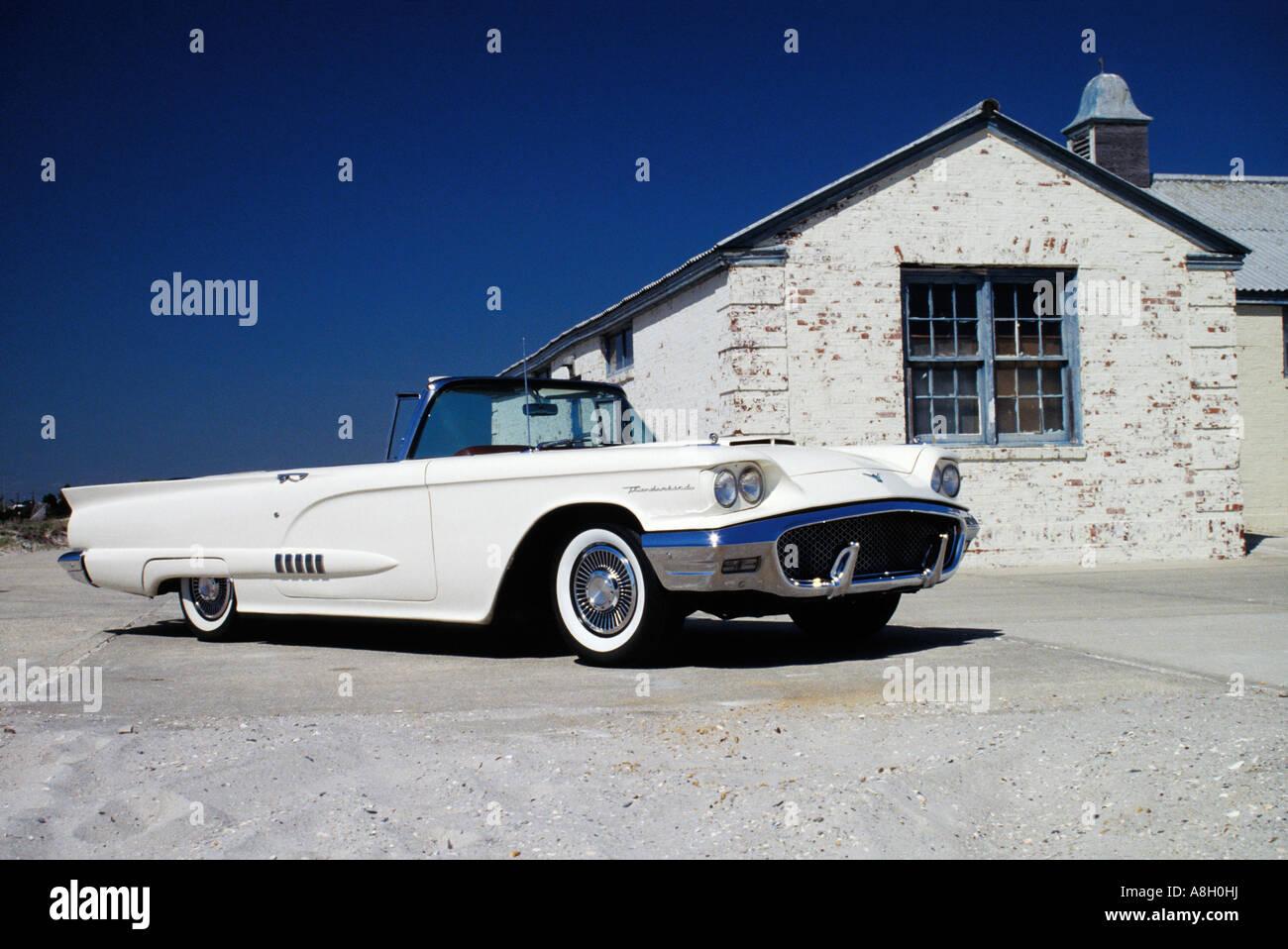 Ford Thunderbird Long Beach, NY - Stock Image