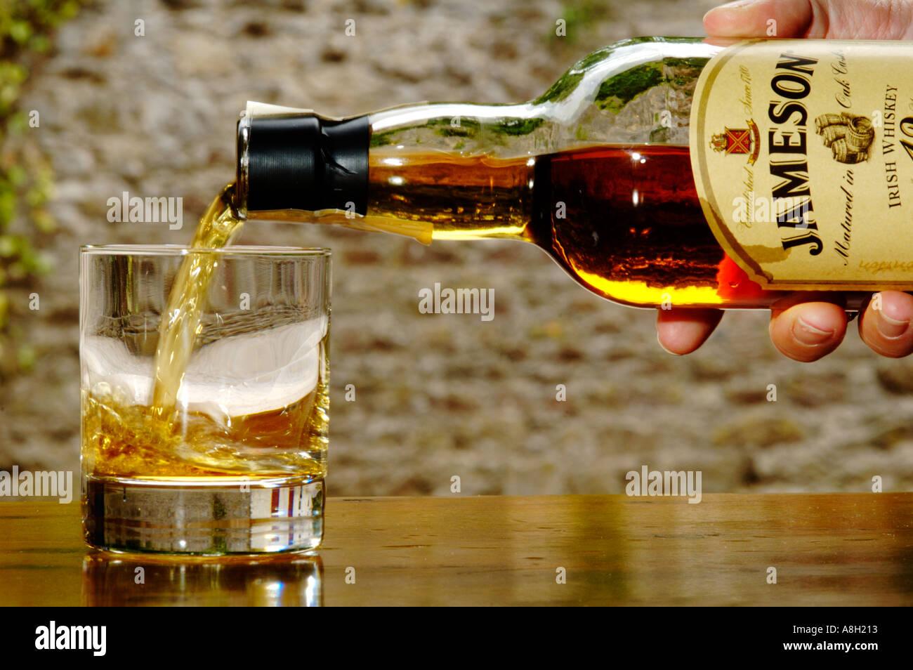 Ireland, County Cork, Old Midleton Distillery, Jameson whiskey Stock Photo