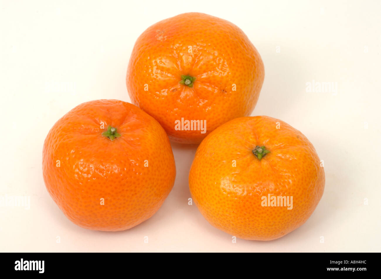 Clementines supermarket bought and in normal shop condition - Stock Image