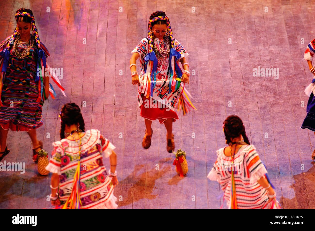Mexico, Riviera Maya, Xcaret, Folkloric show - Stock Image