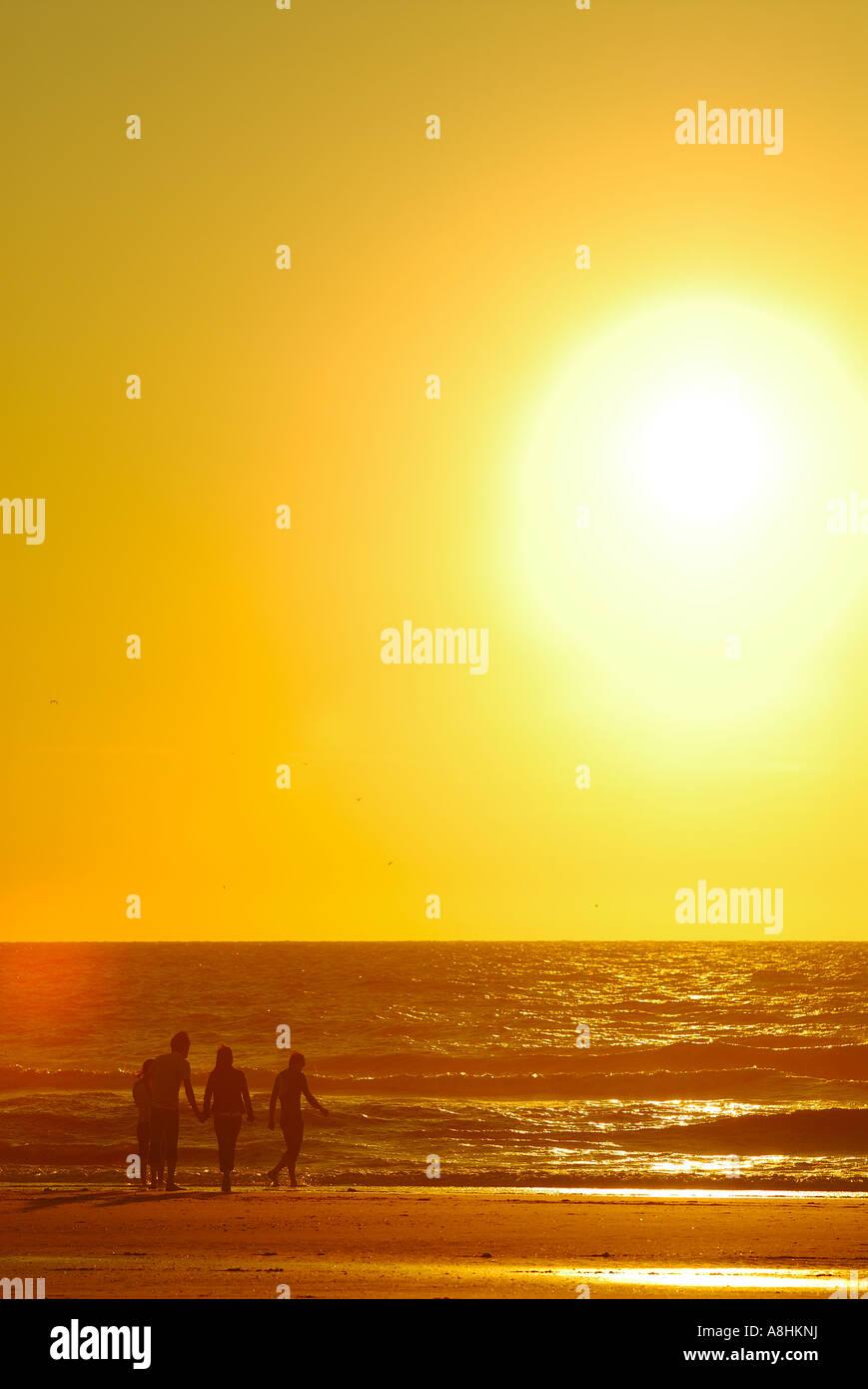 Beachlive at Hoek van Holland Holland group with joy Stock Photo