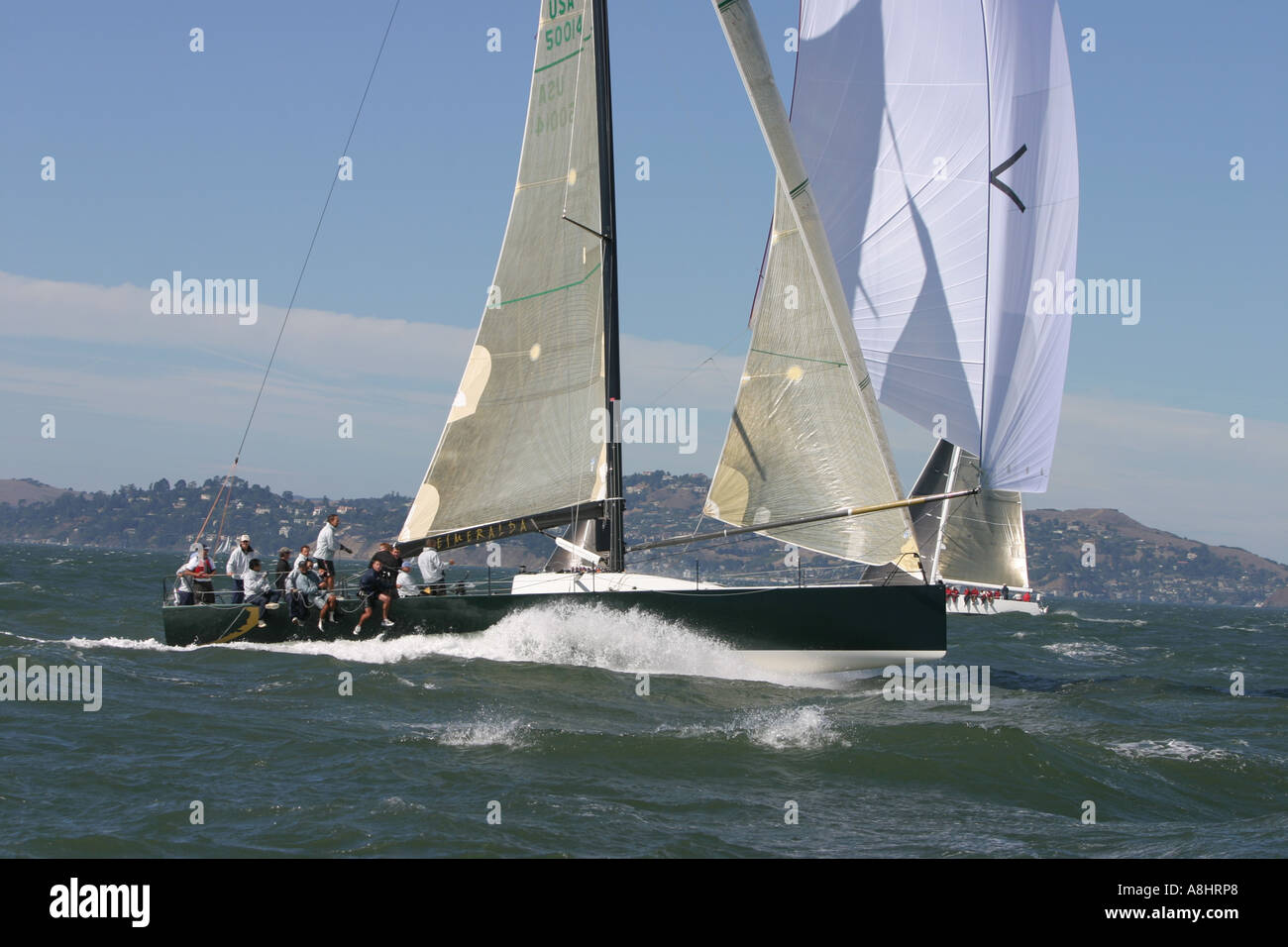 San Fransisco Big Boat Series Presented by Rolex 2004 Stock Photo