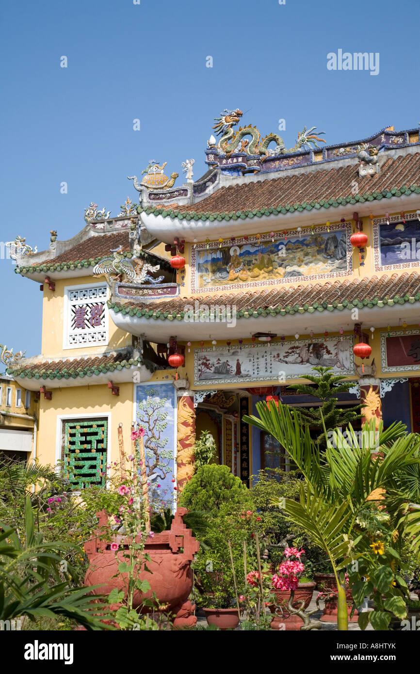 Mung Xuan Di Lac Chinese Congregation Hall, Hoi An, Vietnam - Stock Image