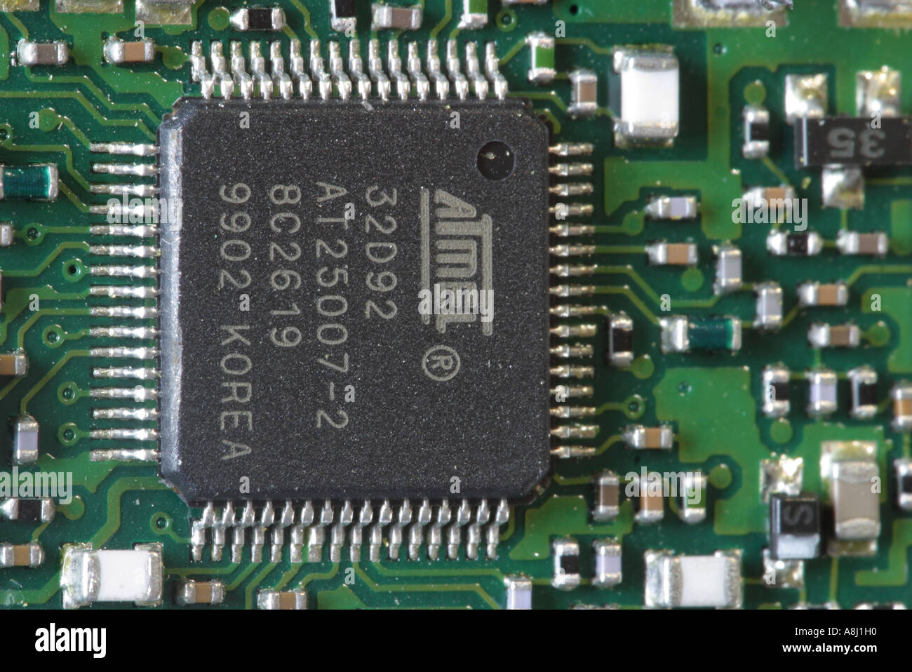 electronic circuit board inside a mobile cell phone stock photoelectronic circuit board inside a mobile cell phone