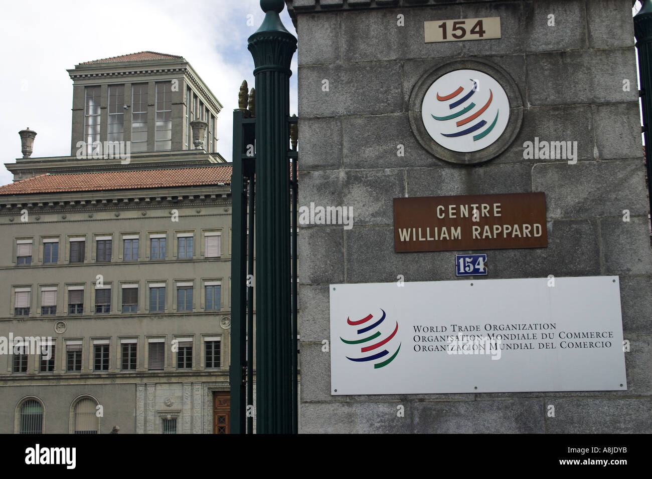 World Trade Organisation Headquarters, Geneva, Switzerland Stock Photo