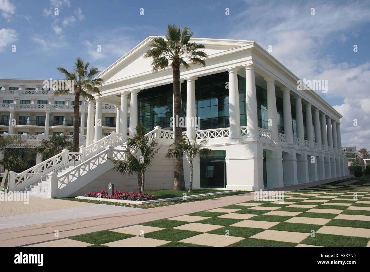 Hotel las arenas playa de la malvarrosa valencia spain stock photo 6927508 alamy - Hoteles en la playa de la malvarrosa ...