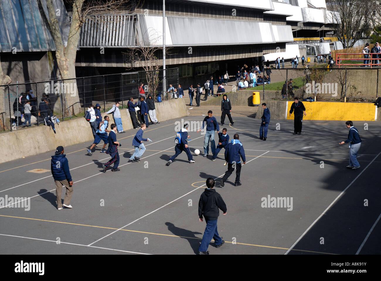 how to play concrete school yard ianpo