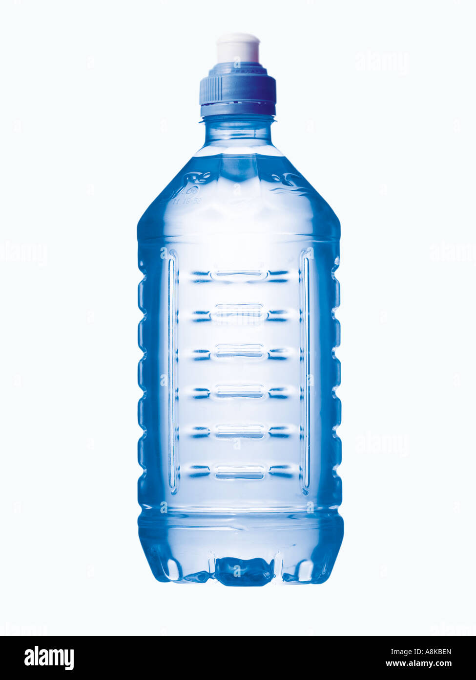 A mineral water bottle - Stock Image