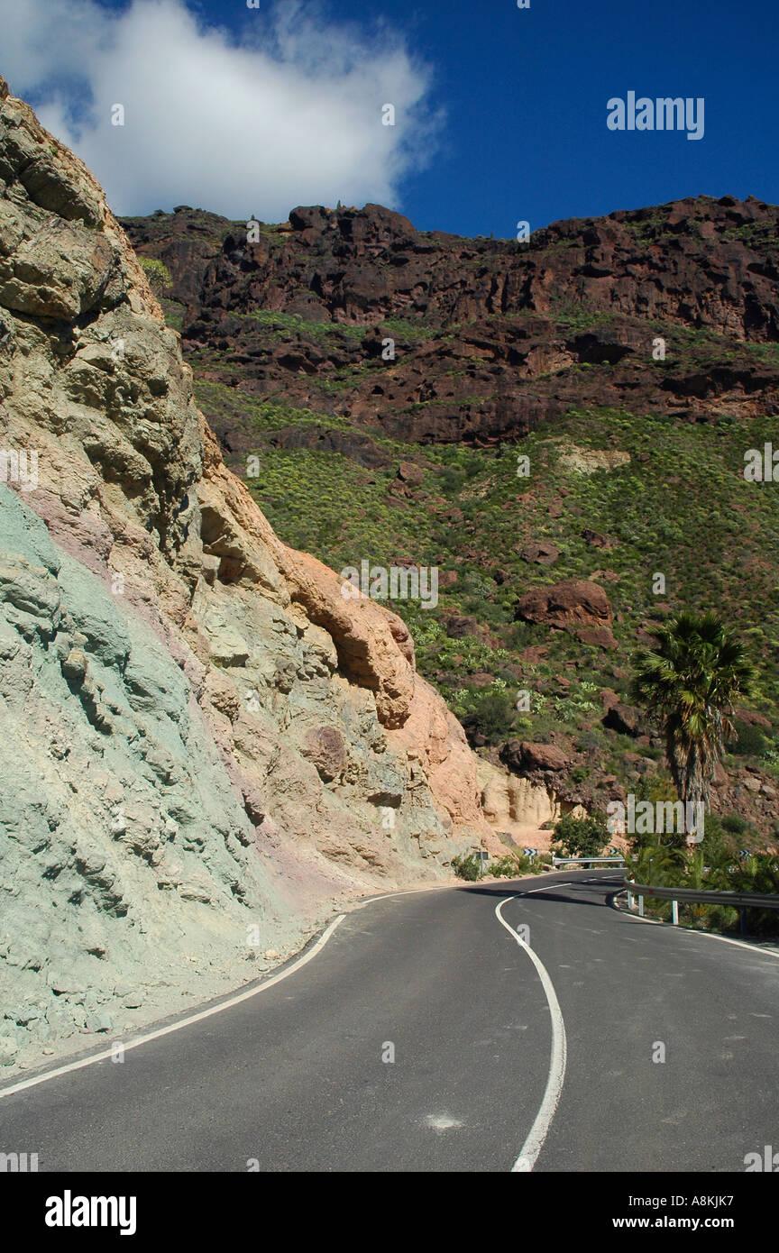 Los azulejos gran canaria finest colorful volcanic rocks of fuente de los azulejos west of gran - Los azulejos gran canaria ...