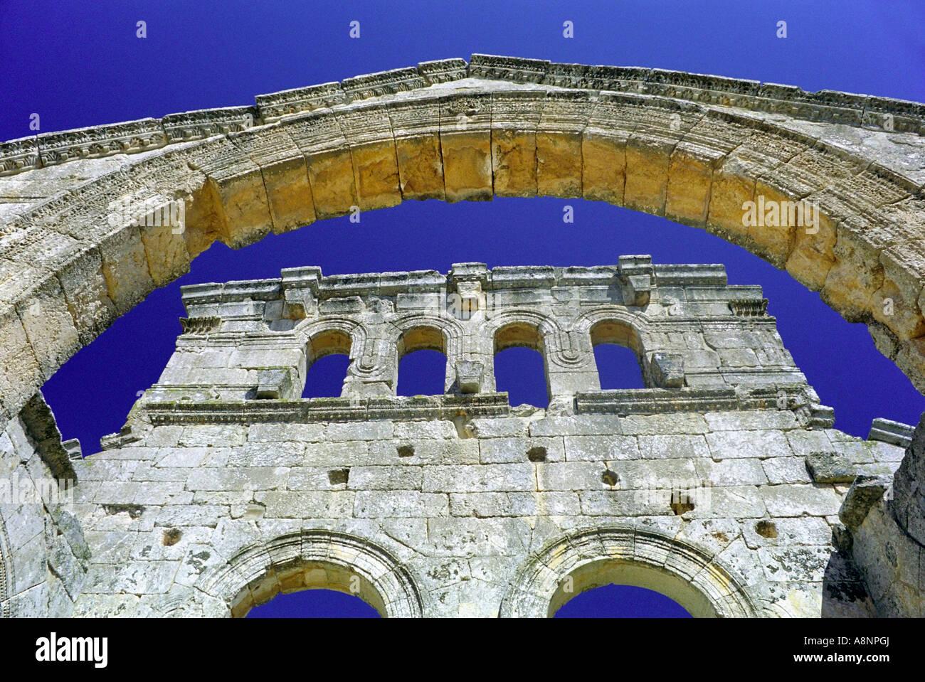 Qala at Samaan - Aleppo, SYRIA - Stock Image
