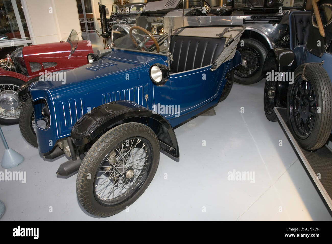 Totally restored 1921 Morgan three wheeler JAP water cooled Southward Motor Museum Paragaraumu North Island New - Stock Image