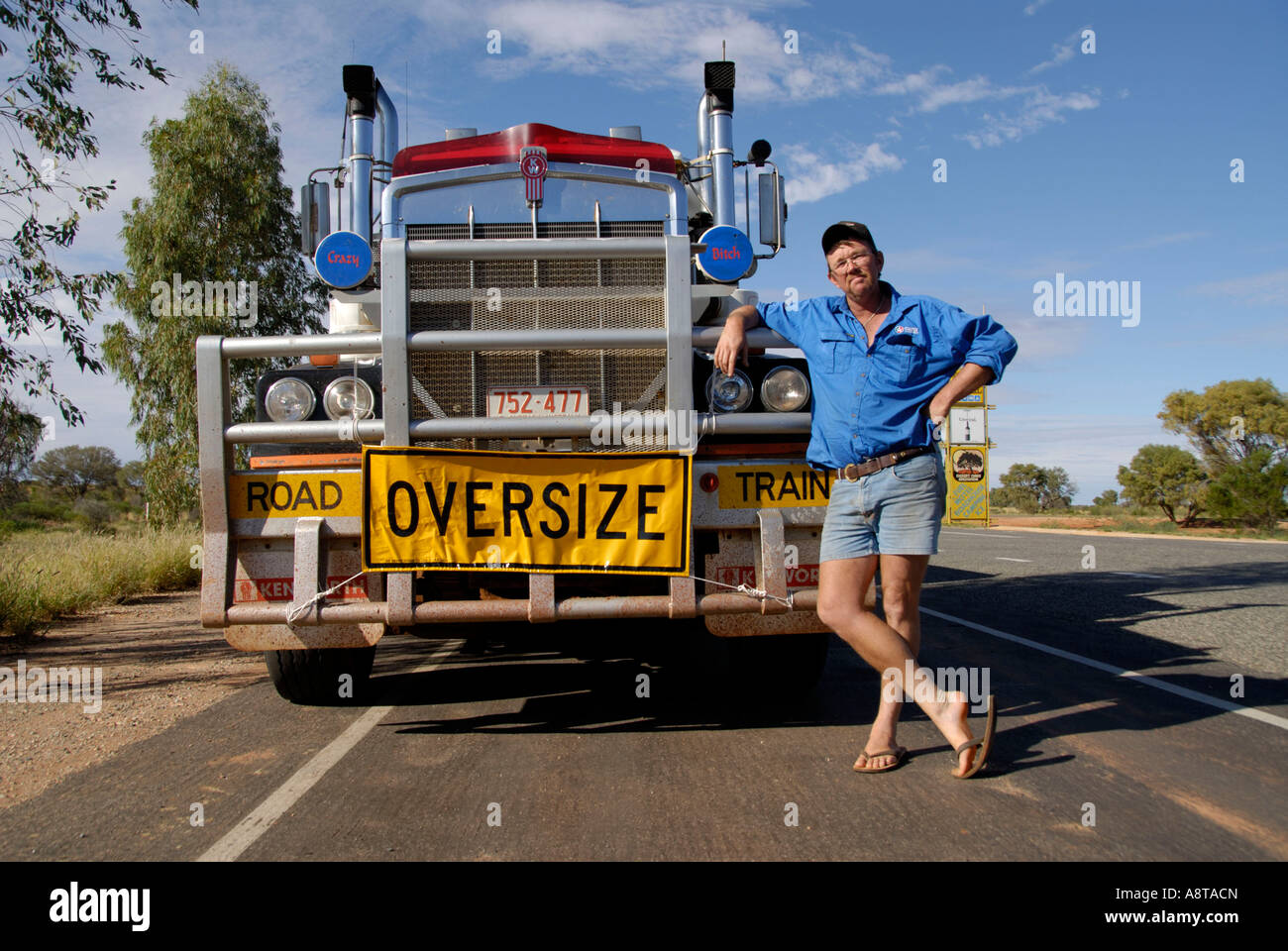 Roadtrain Stock Photos & Roadtrain Stock Images - Alamy