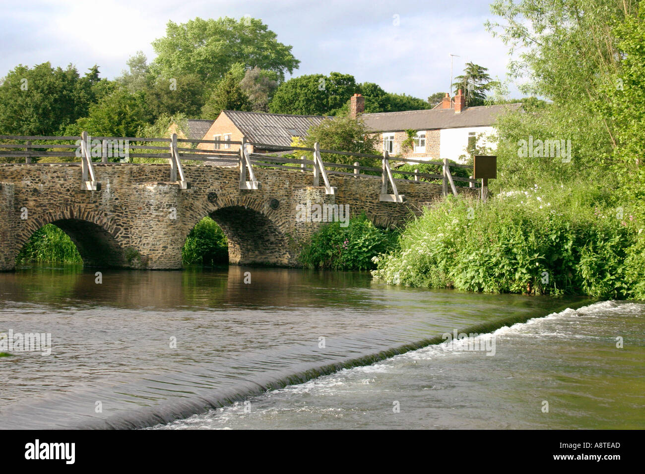 Tilford Bridge Farnham Surrey England UK - Stock Image