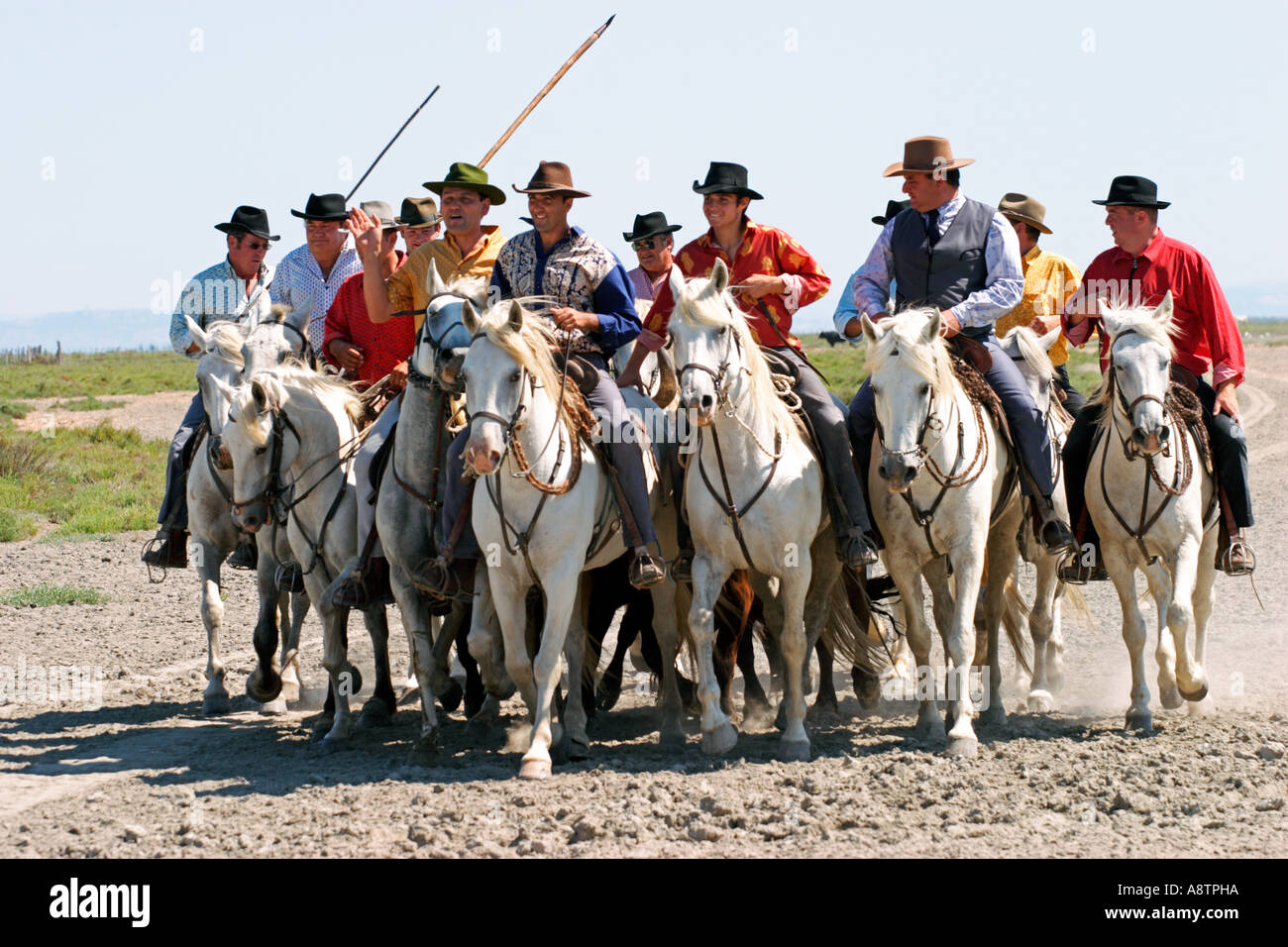 Guardians in Camargue France Stock Photo  6957209 - Alamy 1f2c2a9daac