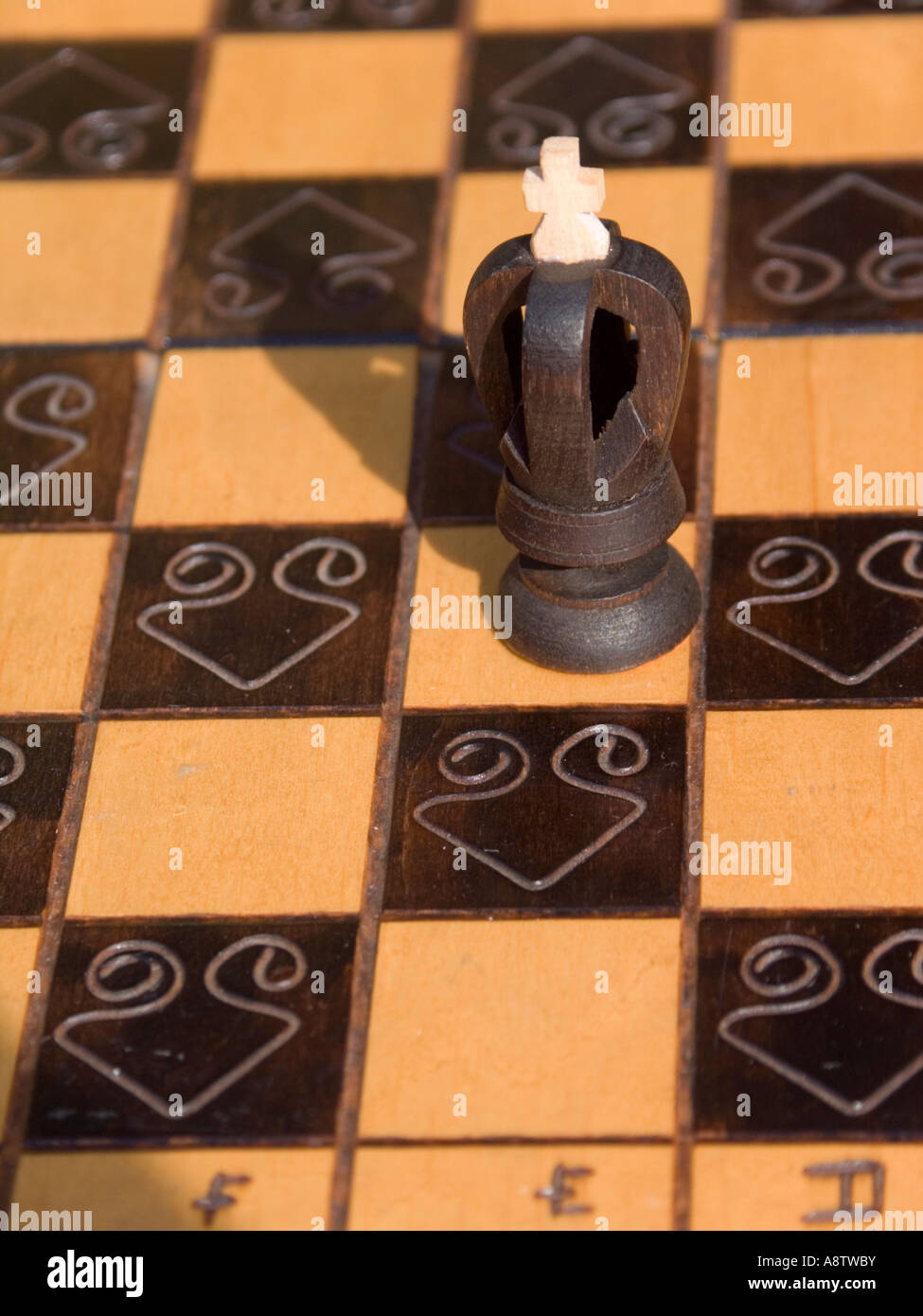 chess king - Stock Image