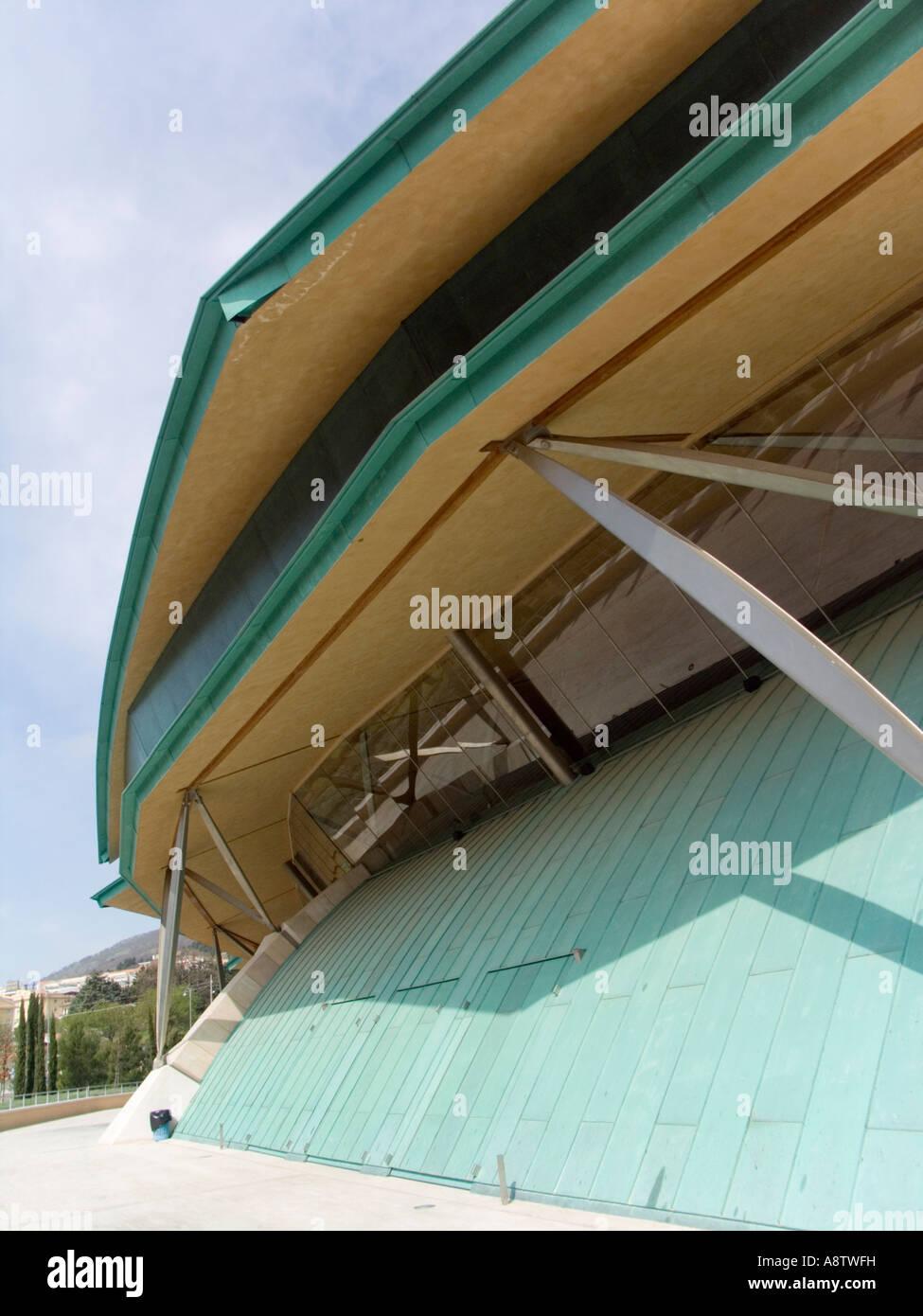 the new church of Padre Pio in San Giovanni Rotondo , Renzo Piano architect , foggia , apulia , italy , europe Stock Photo