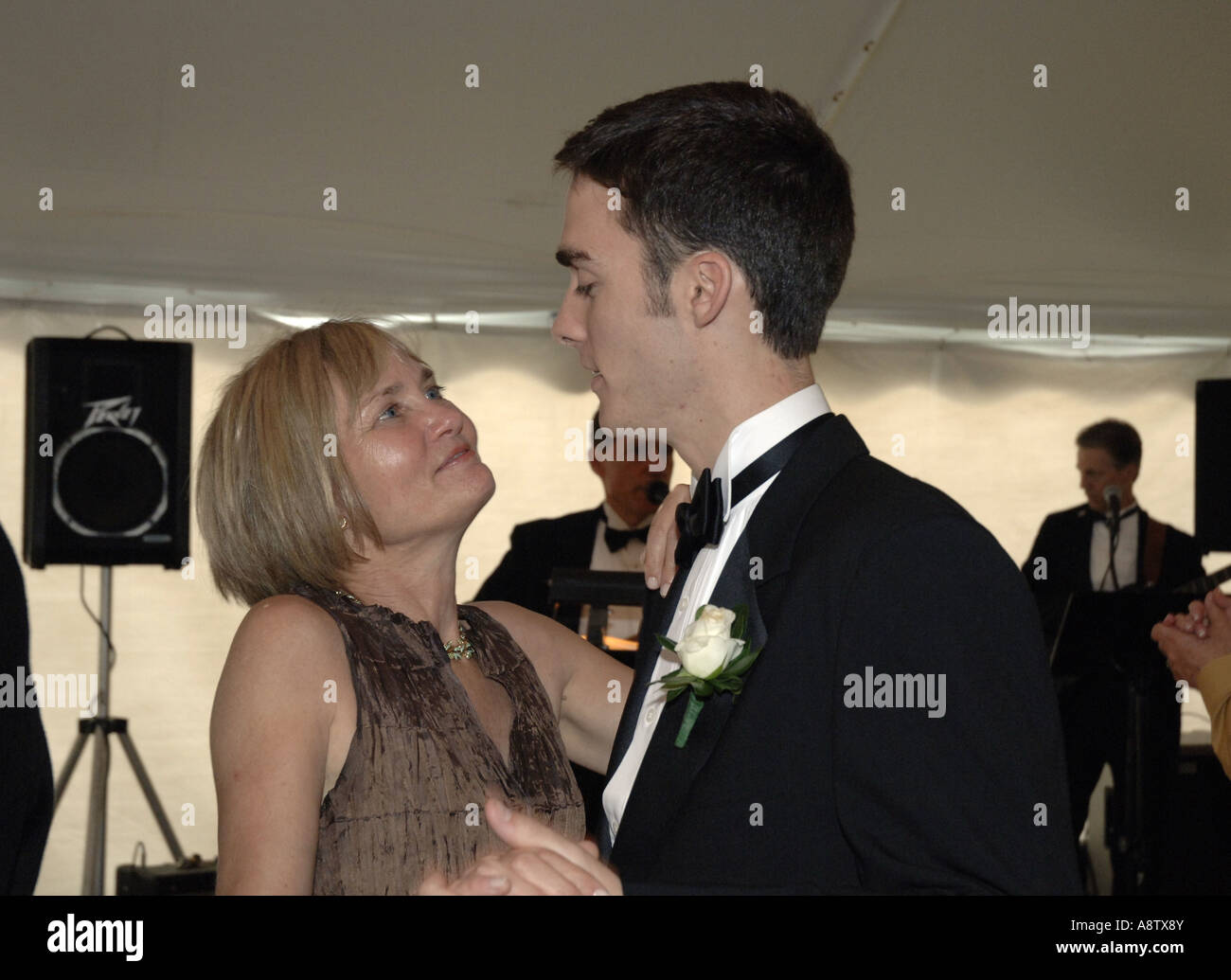 Mother And Son Dance At Wedding Reception She Is Yale School Of