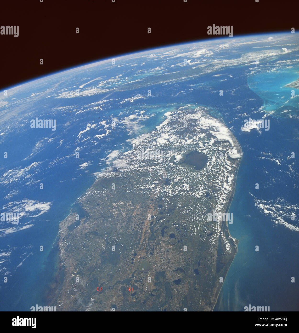 Earth Curvature From Space Stock Photos & Earth Curvature From Space