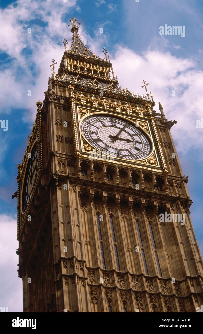 Big Ben, London, England, UK - Stock Image