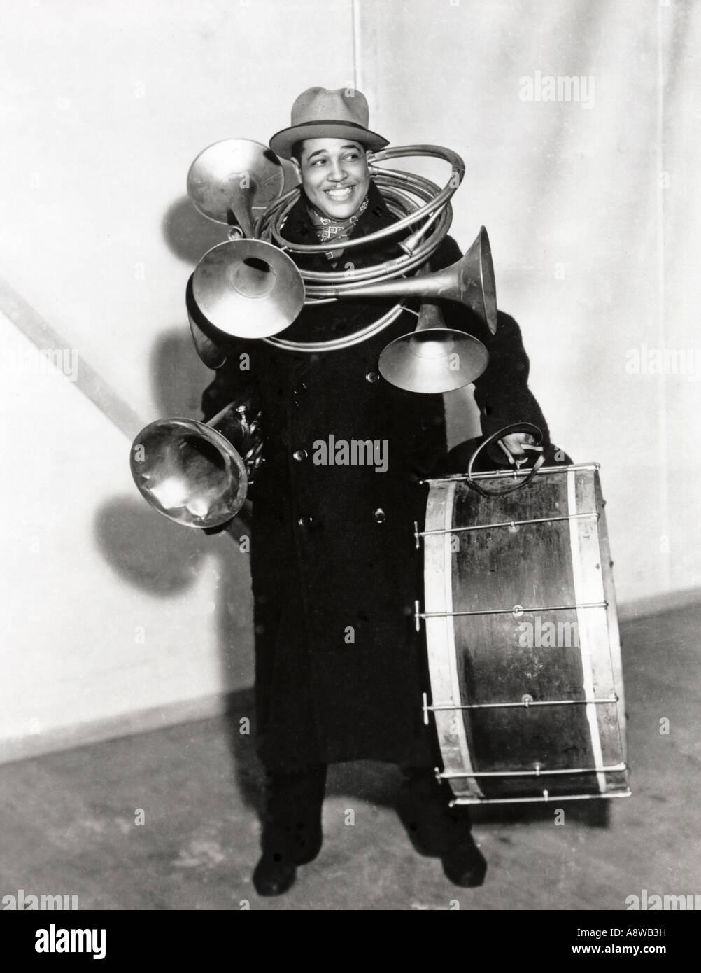 DUKE ELLINGTON - US jazz musician - Stock Image