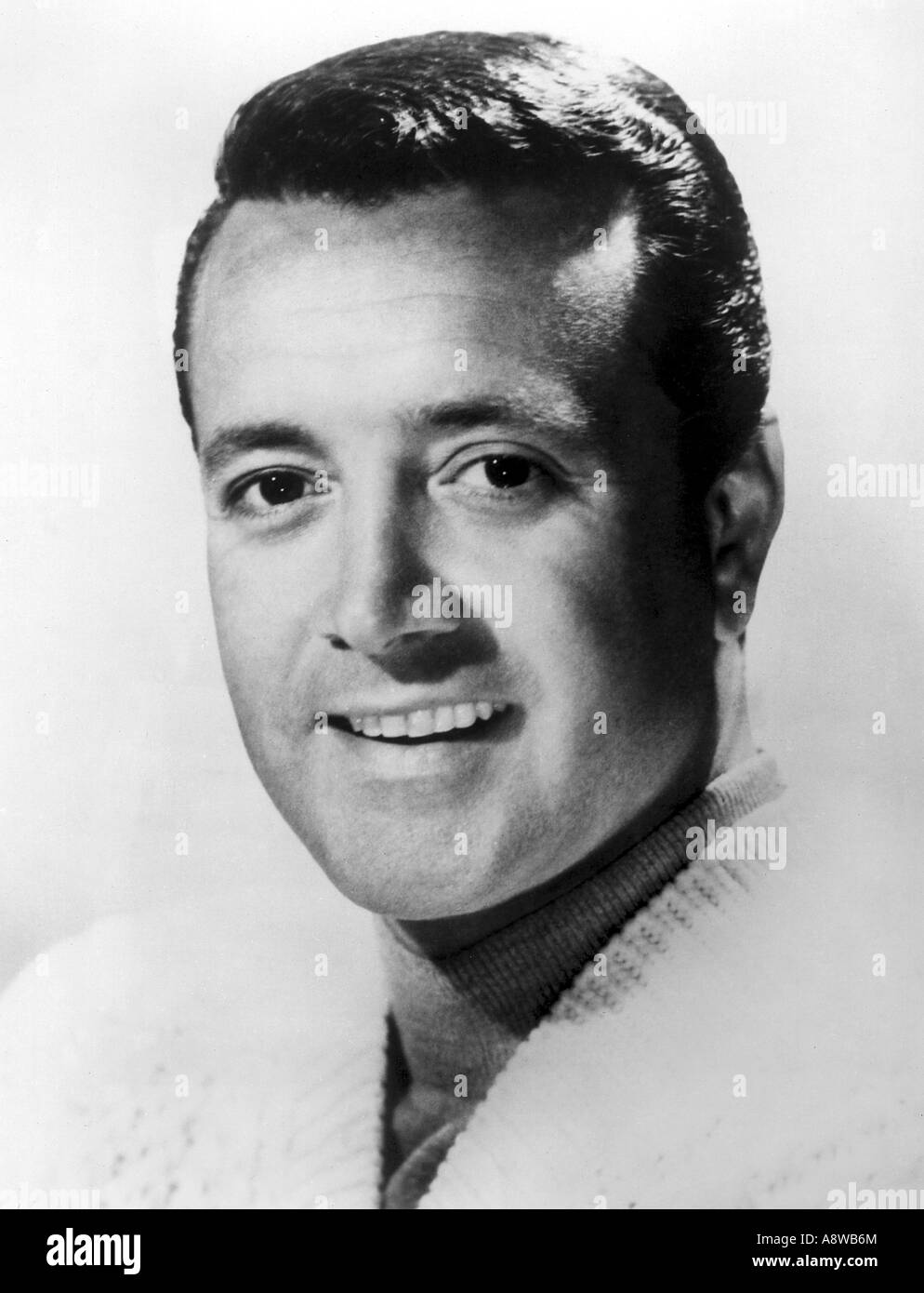 VIC DAMONE - Italian/American singer here about 1960 - Stock Image