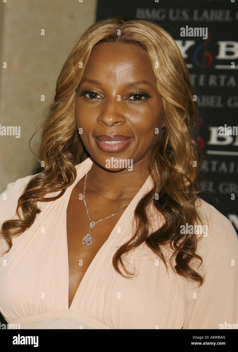 MARY J BLIGE - US singer in 2007 - Stock Image
