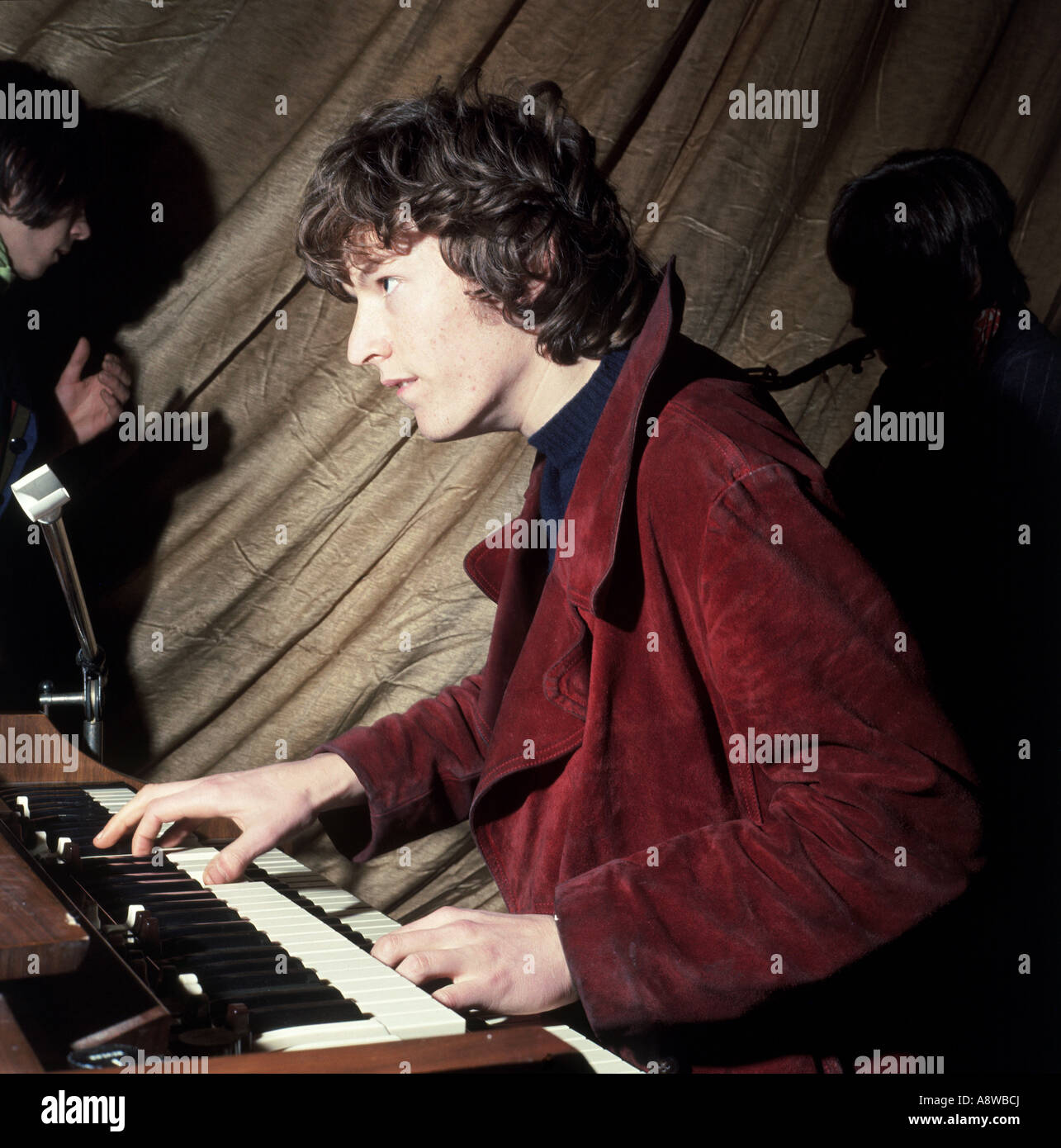 STEVE WINWOOD  in 1967 while with UK group Traffic - Stock Image