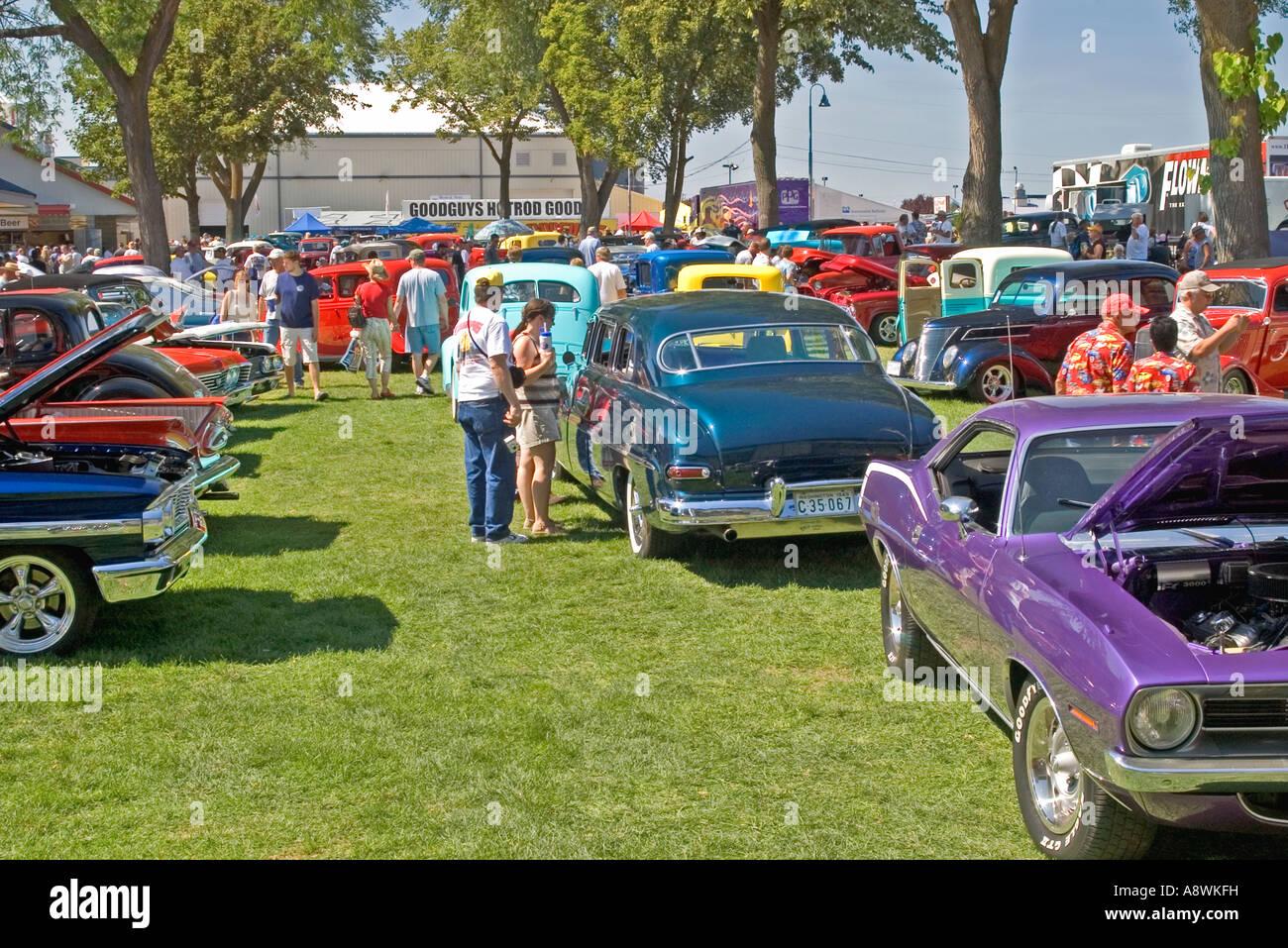 USA, Washington, Spokane, Goodguys Great Northwest Classic Car Show ...