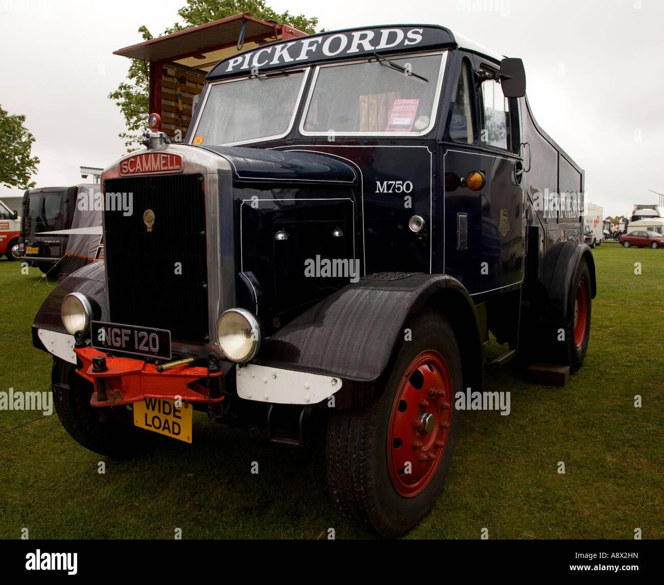 1952 Scammell 20LA at TruckFest, Peterborough, UK. Stock Photo