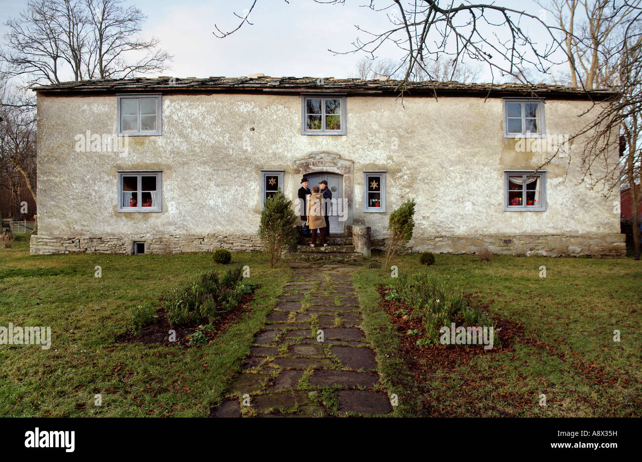 Old Bottarve farm in Vamlingbo on Island Gotland, Baltic, Sweden - Stock Image