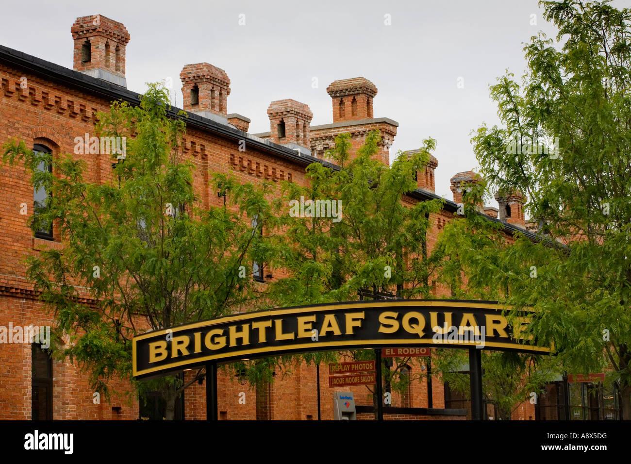 Brightleaf Square Durham North Carolina Stock Photo 12188331 Alamy