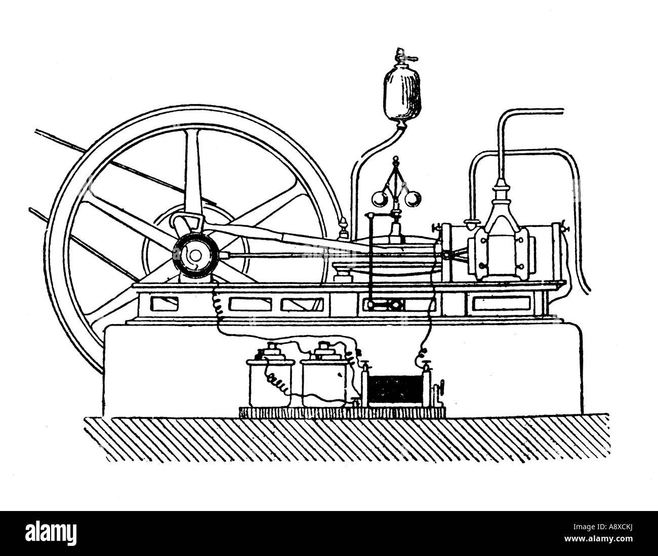 Diagram Of The First Gas Engine Great Installation Wiring Automotive Diagrams Lenoir Stock Photo 12190757 Alamy Rh Com Gasoline